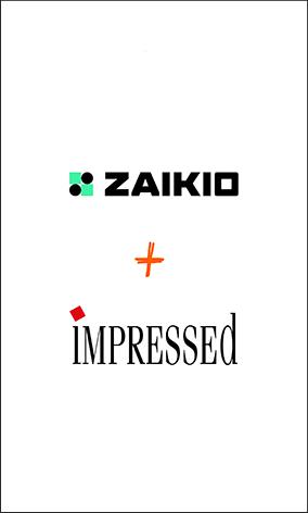 Impressed und zaikio vernetzen sich